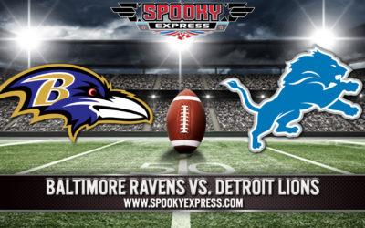 NFL Betting Preview: Baltimore Ravens vs. Detroit Lions – Sunday, Sept. 26, 2021
