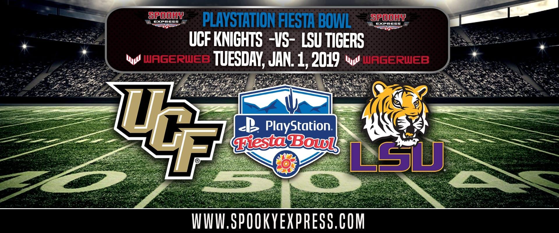 playstation fiesta bowl betting preview ucf knights vs lsu tigers