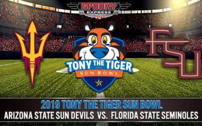 2019 Tony The Tigers Sun Bowl Betting Preview: Florida State Seminoles vs. Arizona State Sun Devils – Dec. 31, 2019