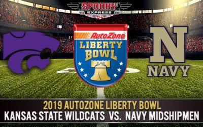 2019 AutoZone Liberty Bowl Betting Preview: Kansas State Wildcats vs. Navy Midshipmen – Dec. 31, 2019