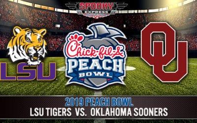 2019 Chick-Fil-A Peach Bowl Betting Preview: LSU Tigers vs. Oklahoma Sooners – Dec. 28, 2019