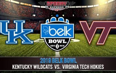 2019 Belk Bowl Betting Preview: Kentucky Wildcats vs. Virginia Tech Hokies – Dec. 31, 2019