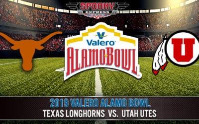 2019 Valero Alamo Bowl Betting Preview: Texas Longhorns vs. Utah Utes – Dec. 31, 2019