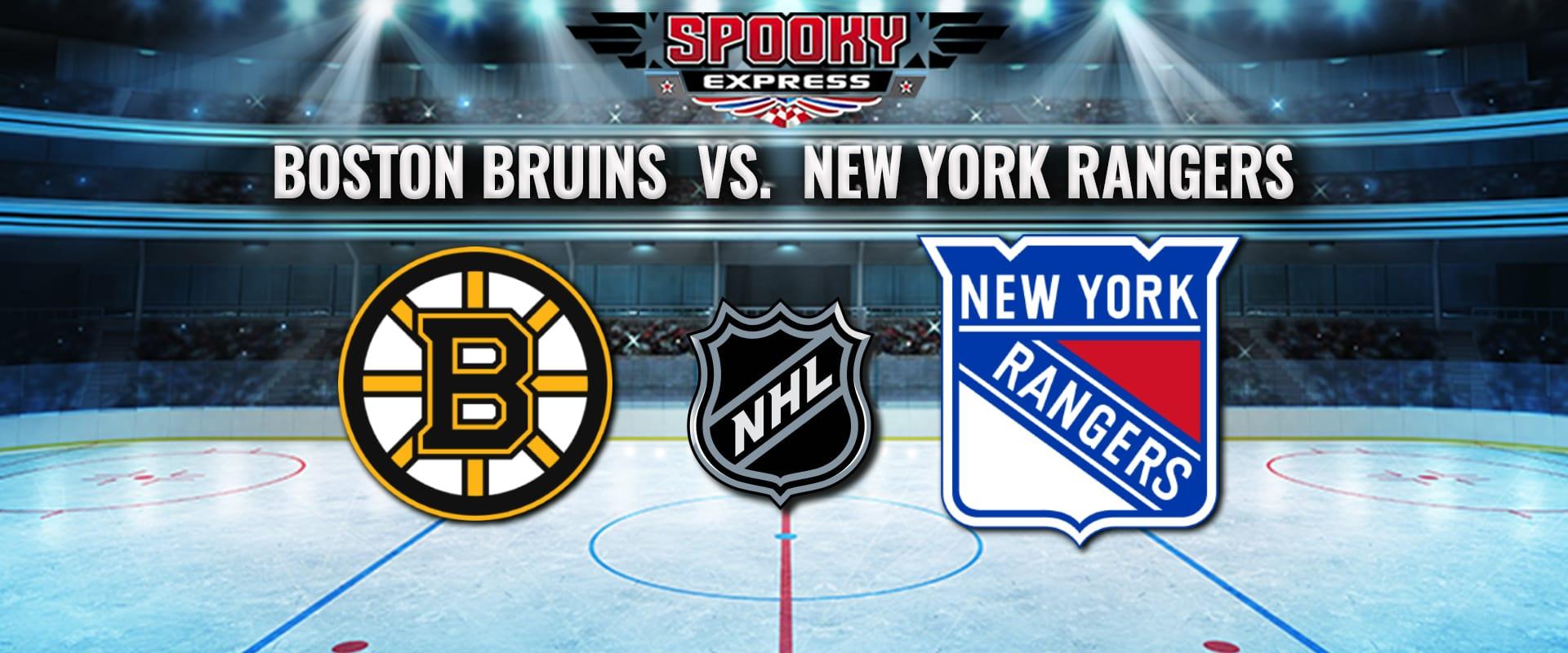 NHL Betting Preview: Boston Bruins vs. New York Rangers