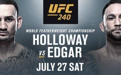 UFC 240: Holloway vs. Edgar Handicapping Tips and Betting Picks