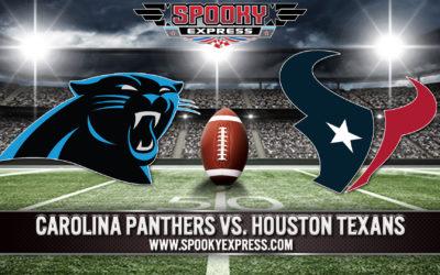 NFL Betting Preview: Carolina Panthers vs. Houston Texans – Thursday, Sept. 23, 2021