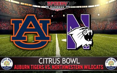 VRBO Citrus Bowl Betting Preview: Auburn Tigers vs. Northwestern Wildcats – Friday, Jan. 1, 2021