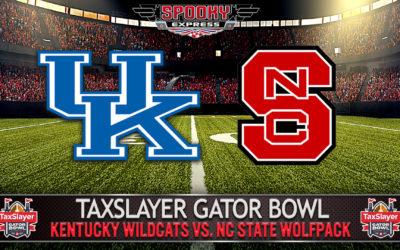 TaxSlayer Gator Bowl Betting Preview: NC State vs. Kentucky Wildcats – Saturday, Jan. 2, 2021