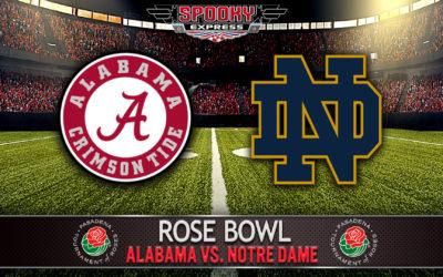Rose Bowl Betting Preview: Alabama Crimson Tide vs. Notre Dame Fighting Irish – Friday, Jan. 1, 2021