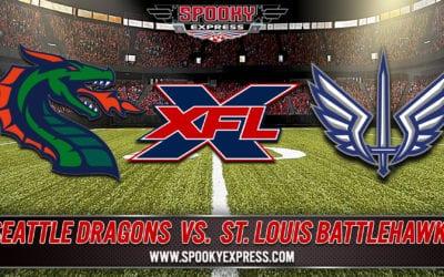 XFL Betting Preview: Seattle Dragons vs. St. Louis Battlehawks – Saturday, February 29, 2020