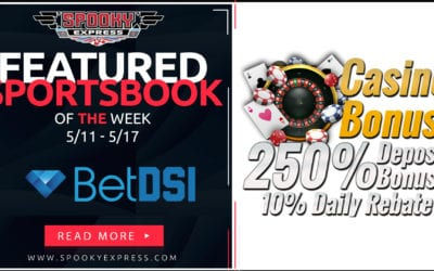 Spooky Express Featured Sportsbook for Week of May 11 – May 17, 2020