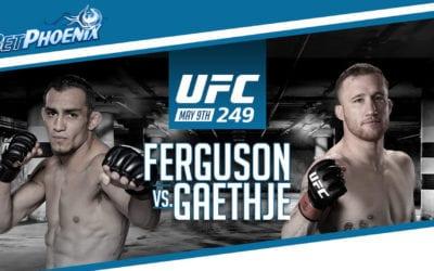 Bet on UFC 249 at BetPhoenix and get 150% FREE PLAY BONUS!