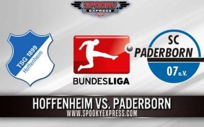 Bundesliga Betting Preview: Hoffenheim vs. Paderborn – Saturday, May 23, 2020