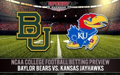 NCAA College Football Betting Preview:  Baylor Bears vs. Kansas Jayhawks – Saturday, Sept. 26, 2020