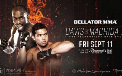 Bellator 245 Davis vs. Machida 2 Betting Preview and Free Play