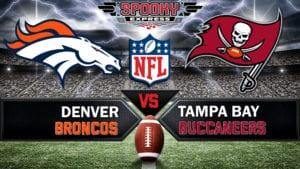 NFL Betting Preview: Denver Broncos vs. Tampa Bay Buccaneers  – Sunday, Sept. 27, 2020