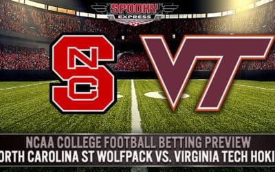 NCAA College Football Betting Preview: North Carolina St Wolfpack vs. Virginia Tech Hokies – Saturday, Sept. 26, 2020