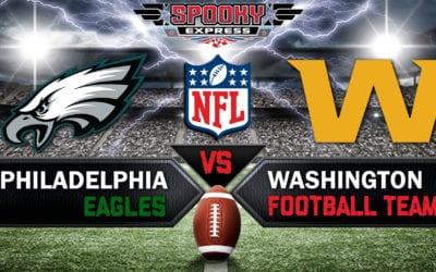 Sunday Night NFL Betting – Washington Has 'Win and In' Scenario vs, Eagles