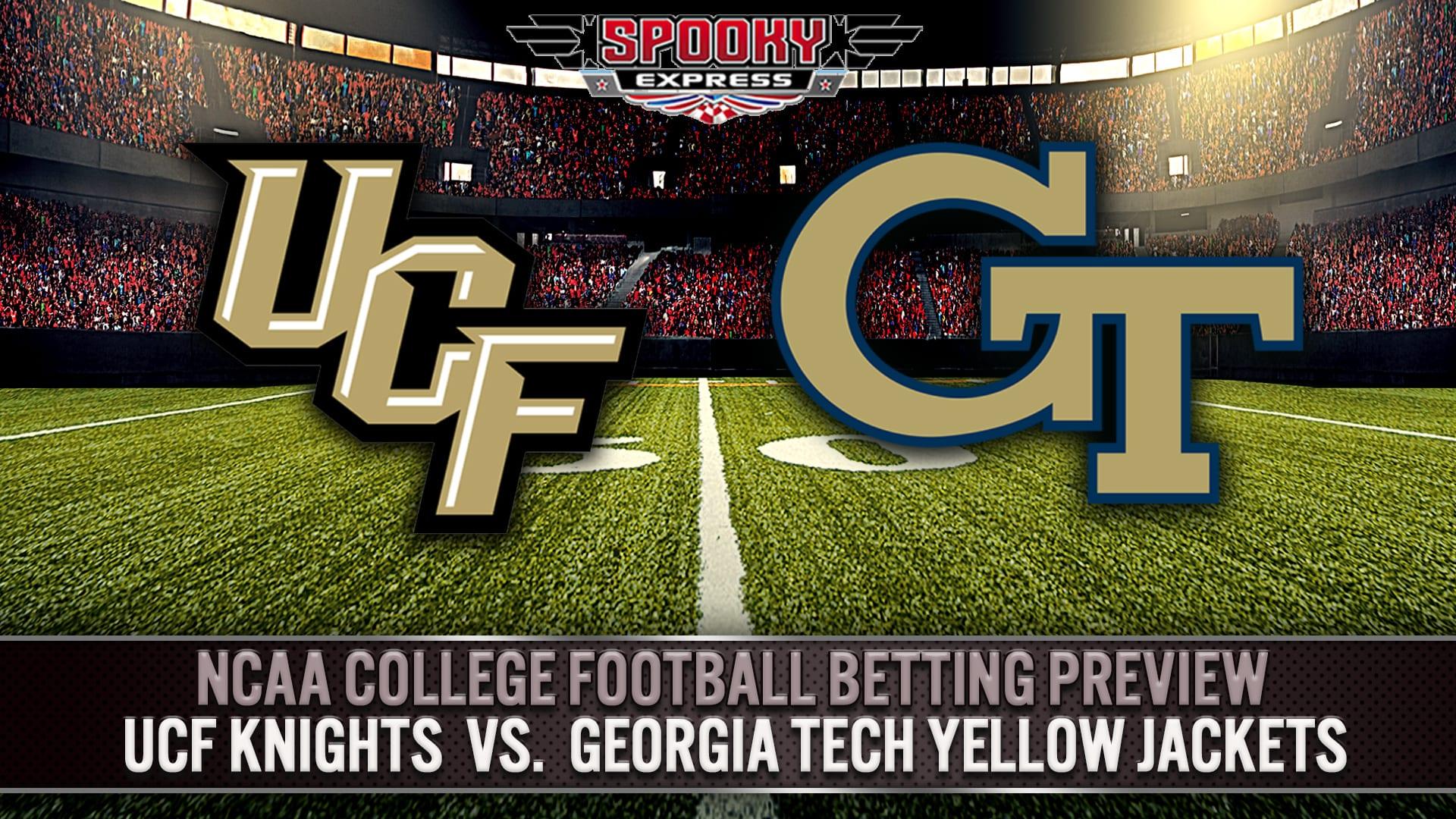 Ncaa College Football Betting Preview Ucf Vs Georgia Tech
