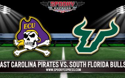 College Football Betting Preview: South Florida Bulls vs. East Carolina Pirates –  Thursday, October 28, 2021