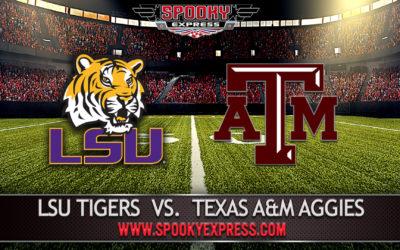 NCAA College Football Betting Preview: LSU Tigers vs. Texas A&M Aggies – Saturday, Nov. 28, 2020