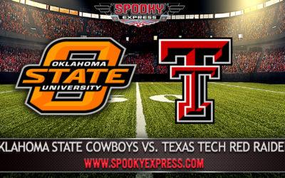 NCAA College Football Betting Preview: Oklahoma State Cowboys vs. Texas Tech Red Raiders – Saturday, Nov. 28, 2020