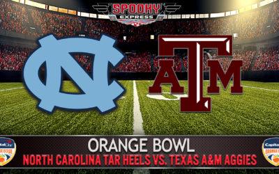 Orange Bowl Betting Preview: North Carolina Tar Heels vs. Texas A&M Aggies – Jan. 2, 2021