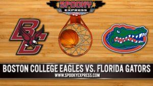 NCAA College Basketball Preview:  Boston College Eagles vs. Florida Gators – Thursday, Dec. 3, 2020