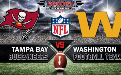 NFC Wildcard Betting Preview:  #4 Washington Football Team vs #5 Tampa Bay Buccaneers – Saturday, Jan. 9, 2021