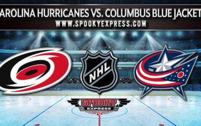 NHL Betting Preview: Carolina Hurricanes vs. Columbus Blue Jackets – Saturday, October 23, 2021