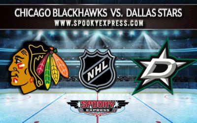 NHL Betting Preview:  Chicago Blackhawks vs. Dallas Stars  – Monday, May 10, 2021