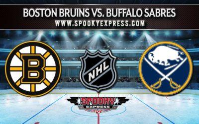 NHL Betting Preview:  Boston Bruins vs. Buffalo Sabres – Friday, October 22, 2021