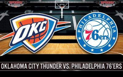 NBA Betting Preview: Oklahoma City Thunder vs. Philadelphia 76'ers – Sunday, October 24, 2021
