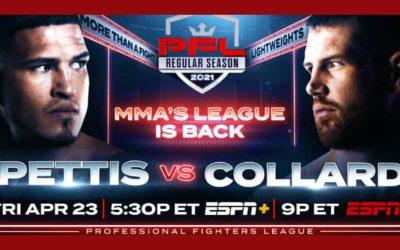 PFL #1 Betting Preview – Jo Sungbin vs. Tyler Diamond – Friday, April 24, 2021
