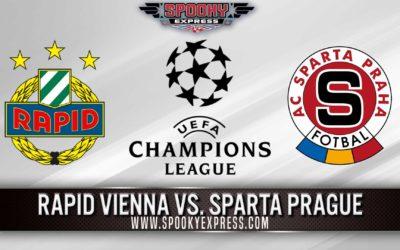 UEFA Champions League Qualifiers: Rapid Vienna vs Sparta Prague –  Tuesday, July 20, 2021