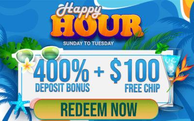 Vegas Rush Happy Hours – Sunday thru Tuesday!!!