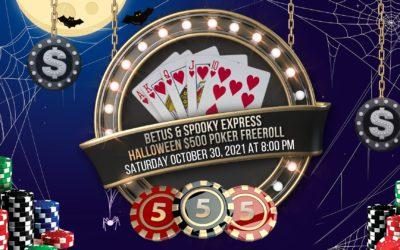 BetUS & Spooky Express $500 Halloween Poker Freeroll – Saturday, October 30, 2021