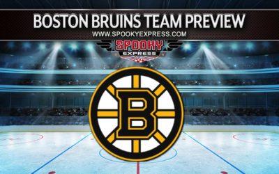 2021-2022 NHL Season Team Preview: Boston Bruins