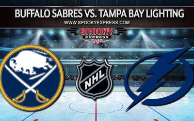 NHL Betting Preview: Buffalo Sabres vs. Tampa Bay Lighting – Monday, October 25, 2021