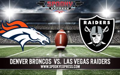 NFL Betting Preview:  Denver Broncos vs. Las Vegas Raiders
